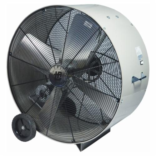 TPI PB48B3 3-Phase Belt Drive Standard Portable Blower, 240/480 VAC, 1 hp, 22700 cfm, 48 in, Steel Propeller, Domestic