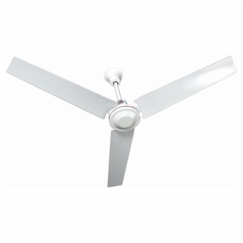 TPI IHR Industrial Grade Down Draft Ceiling Fan, 48 in Blade, Metal Housing, Aluminum Blade, 17100 cfm