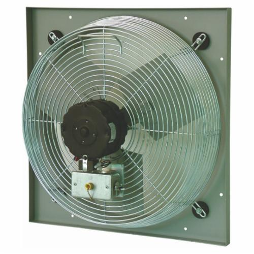 TPI CE Series 1-Phase Direct Drive Standard Exhaust Fan, 30 in Dia Blade, 120 VAC, 3080/3950 cfm, 2 Speeds, 33-1/2 in W