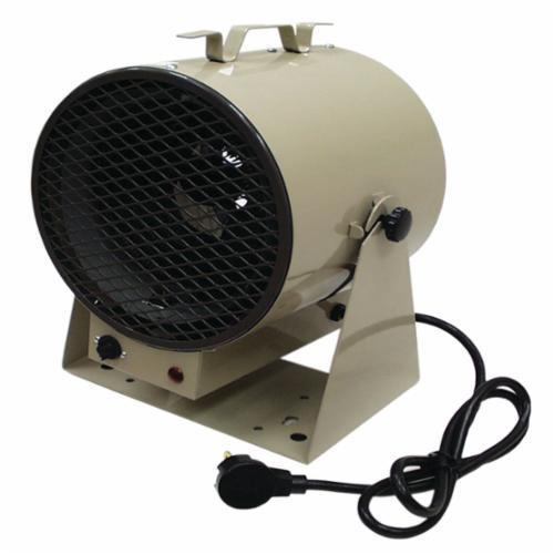 TPI HF686TC 680 1-Phase Bulldog Fan Forced Portable Unit Heater, 19107/14330 Btu/hr, 208/240 VAC, 23.4 A, 20.2 A, 5600/4200 W