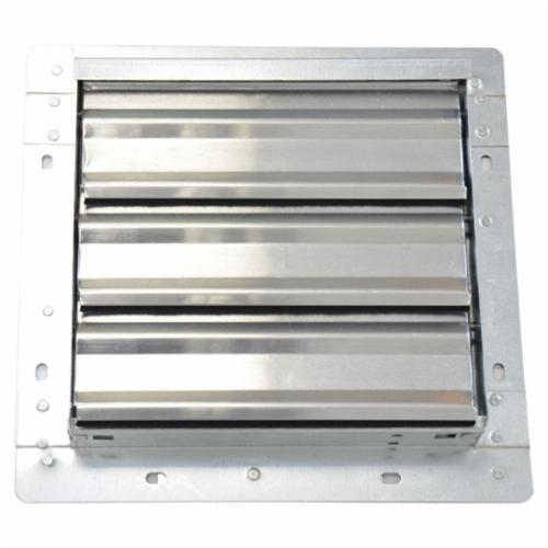 TPI CS Series Joist Out Style Ceiling Shutter, For Use With 36 in Belt Drive Wholehouse Fan, 120 VAC, 1-Phase, Fits 32 x 43 in ID Hole