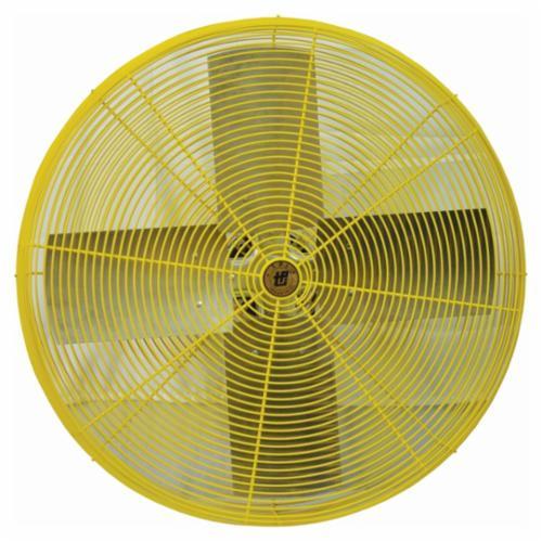 TPI HDH24 1-Phase Heavy Duty Standard Air Circulator Fan Head, 24 in Blade, 5600 cfm High, 4900 cfm Low, 120 VAC, 3.5 A
