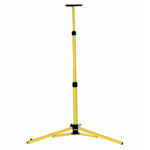 TPI TRI Standard Tripod Base, For Use With Portable Utility Light, Black/Yellow