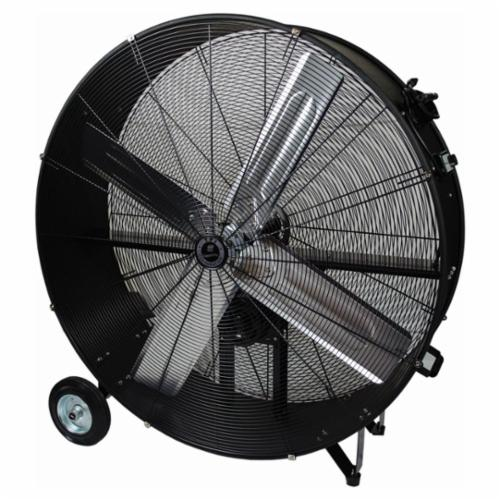 TPI CPB48B 1-Phase Belt Drive Standard Portable Blower, 120 VAC, 3/4 hp, 12000/15000 cfm, 48 in, Aluminum Propeller, Import