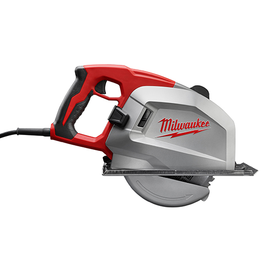 Milwaukee® 6370-20 Grounded Corded Circular Saw, 8 in Dia Blade, 5/8 in Arbor/Shank, 2-9/16 in at 90 deg Cutting, Right Blade Side