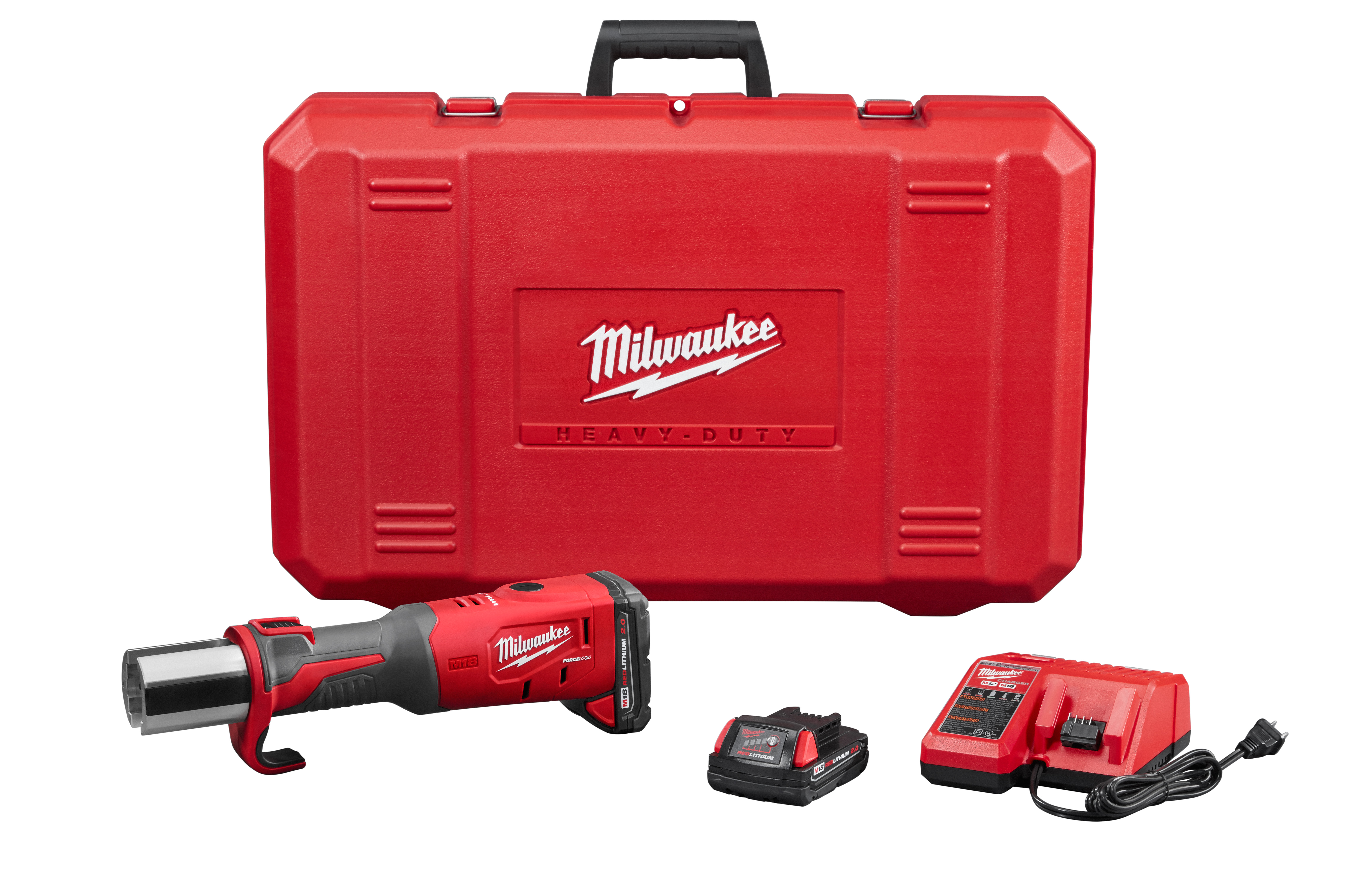 Milwaukee® M18™ 2773-20 Brushless Short Throw Cordless Press Tool, 1/2 to 4 in Capacity, 3.7 s Crimp, 18 VAC, Lithium-Ion Battery