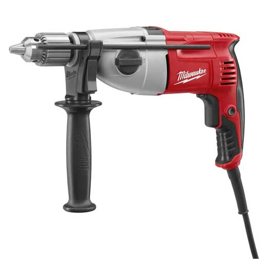 Milwaukee® 5378-21 Dual Torque Corded Hammer Drill, 1/2 in Keyed Chuck, 120 VAC, 13 in OAL