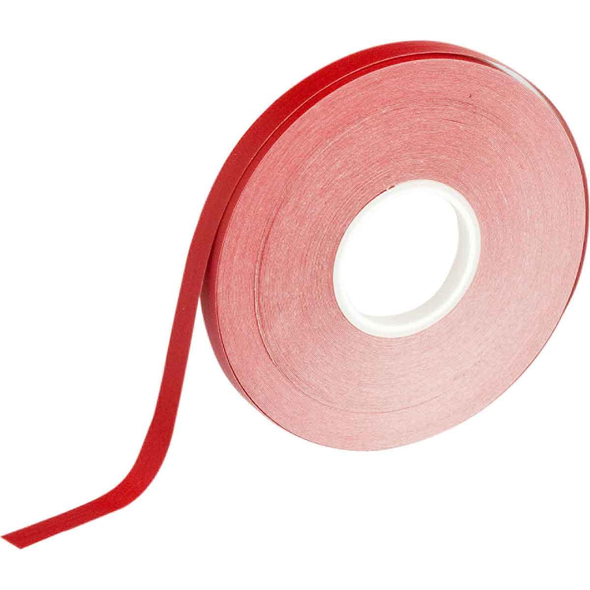 Brady® 121122 Non-Reflective Border Line Tape, 50 ft L x 1/4 in W, Red, B-7569 Vinyl Film