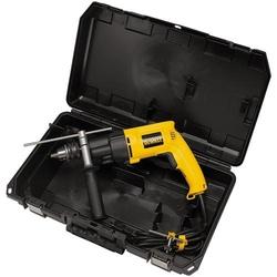 DeWALT® DW505K Dual Range Lightweight VSR Hammer Drill Kit, 1/2 in Keyed Chuck, 120 VAC, 13 in OAL