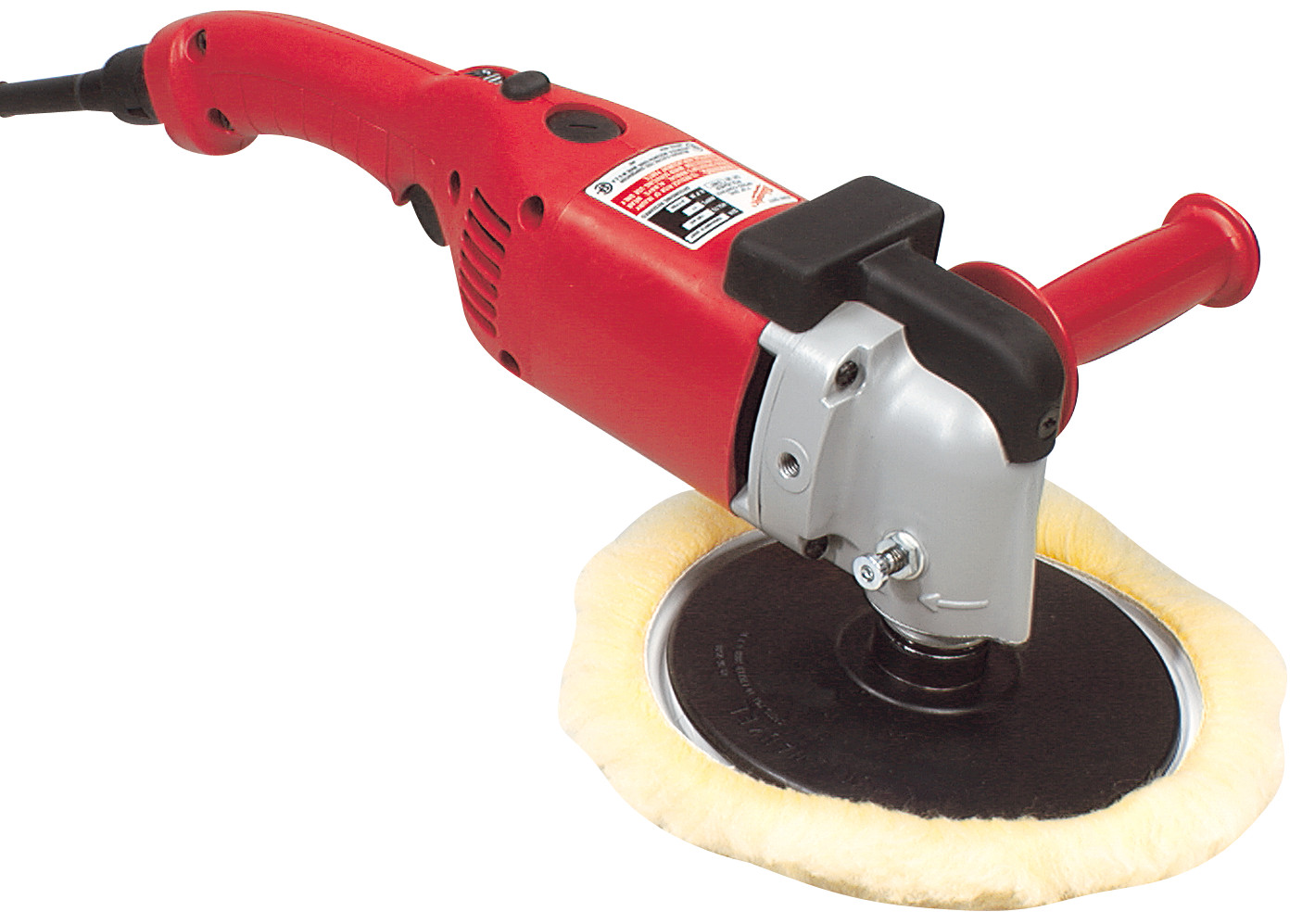 Milwaukee® 5455 Double Insulated Right Angle Polisher, 7 in, 9 in Dia Pad