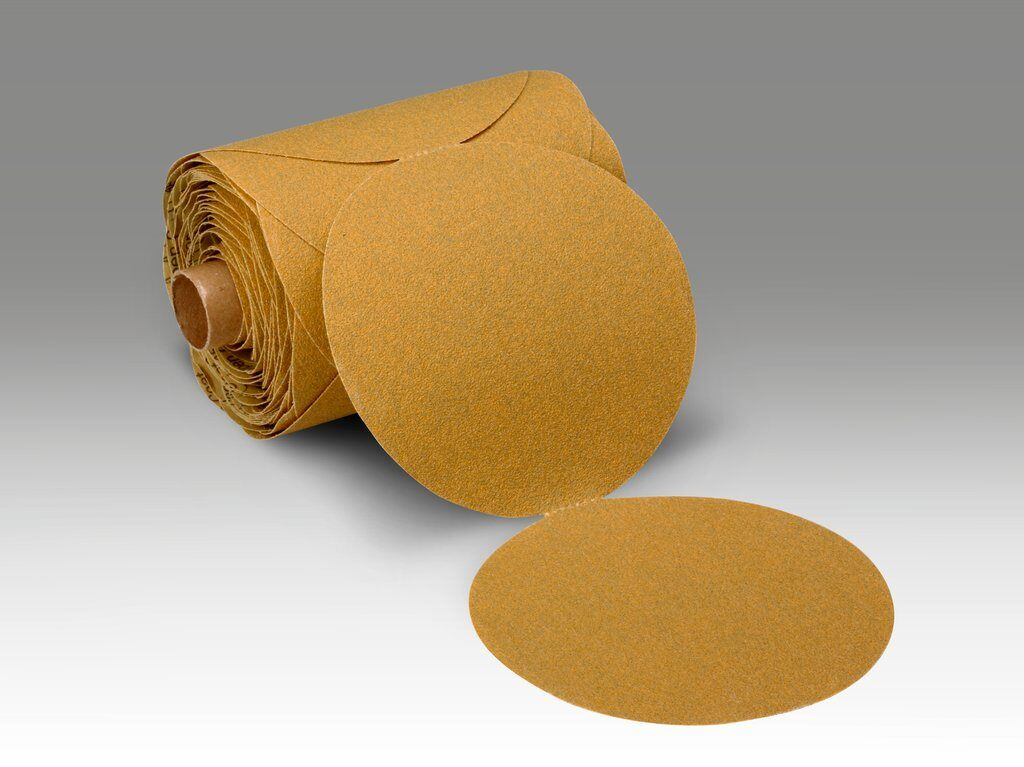 3M™ 051144-21787 363I Closed Coated PSA Carbide Burr, 8 in Dia Disc, 80 Grit, Medium Grade, Aluminum Oxide Abrasive, Paper Backing