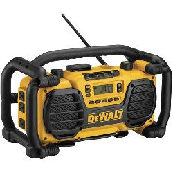 DeWALT® XRP™ DC012 Heavy Duty Cordless Worksite Radio With Charger, 7.2 to 18 VDC, Li-Ion/Ni-Cd Battery