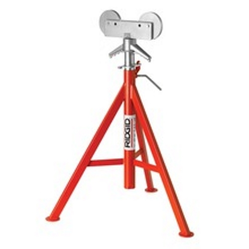 RIDGID® 56672, RJ-99 High Head Roller Pipe Stand, 12 in Pipe, 1000 lb Load