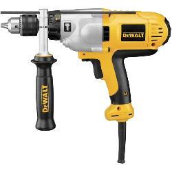 DeWALT® DWD525K Dual Mode VSR Hammer Drill Kit, 1/2 in Keyed Chuck, 120 VAC, 13 in OAL