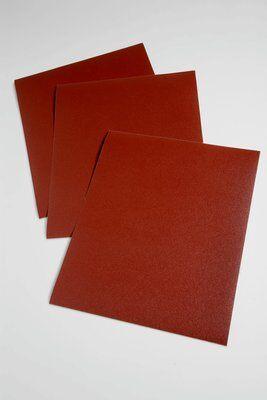 3M™ 051115-19772 314D Utility Coated Sanding Sheet, 11 in L x 9 in W, P80 Grit, Medium Grade, Aluminum Oxide Abrasive, Cloth Backing