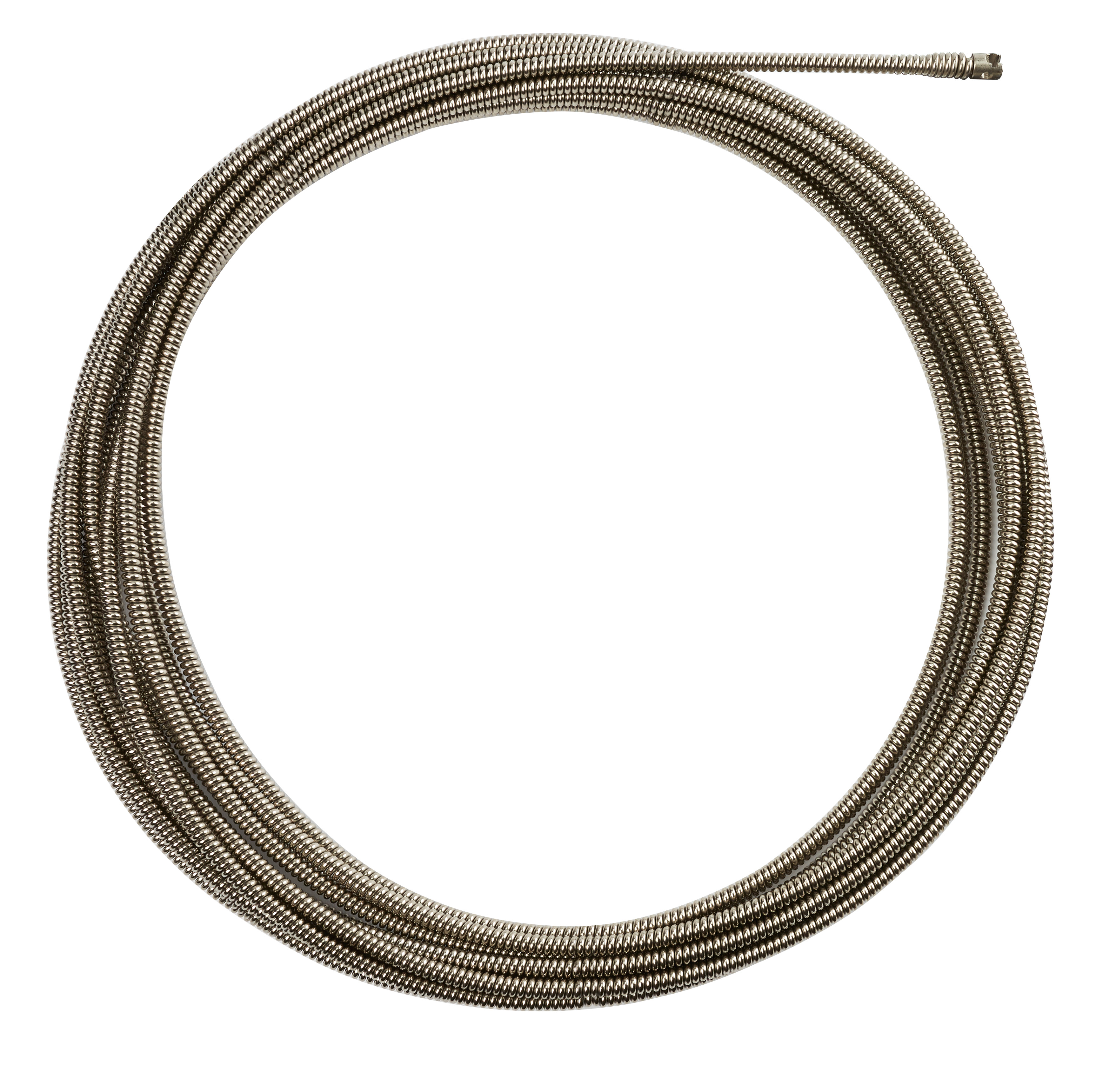 Milwaukee® 48-53-2773 Inner Core Coupling Drain Cleaning Cable, 3/8 in, Steel, For Use With Drain Cleaning Machines, 1-1/4 to 2-1/2 in Drain Line