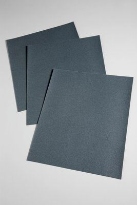 3M™ 051144-10699 431Q Coated Sanding Sheet, 11 in L x 9 in W, 240 Grit, Very Fine Grade, Silicon Carbide Abrasive, Paper Backing