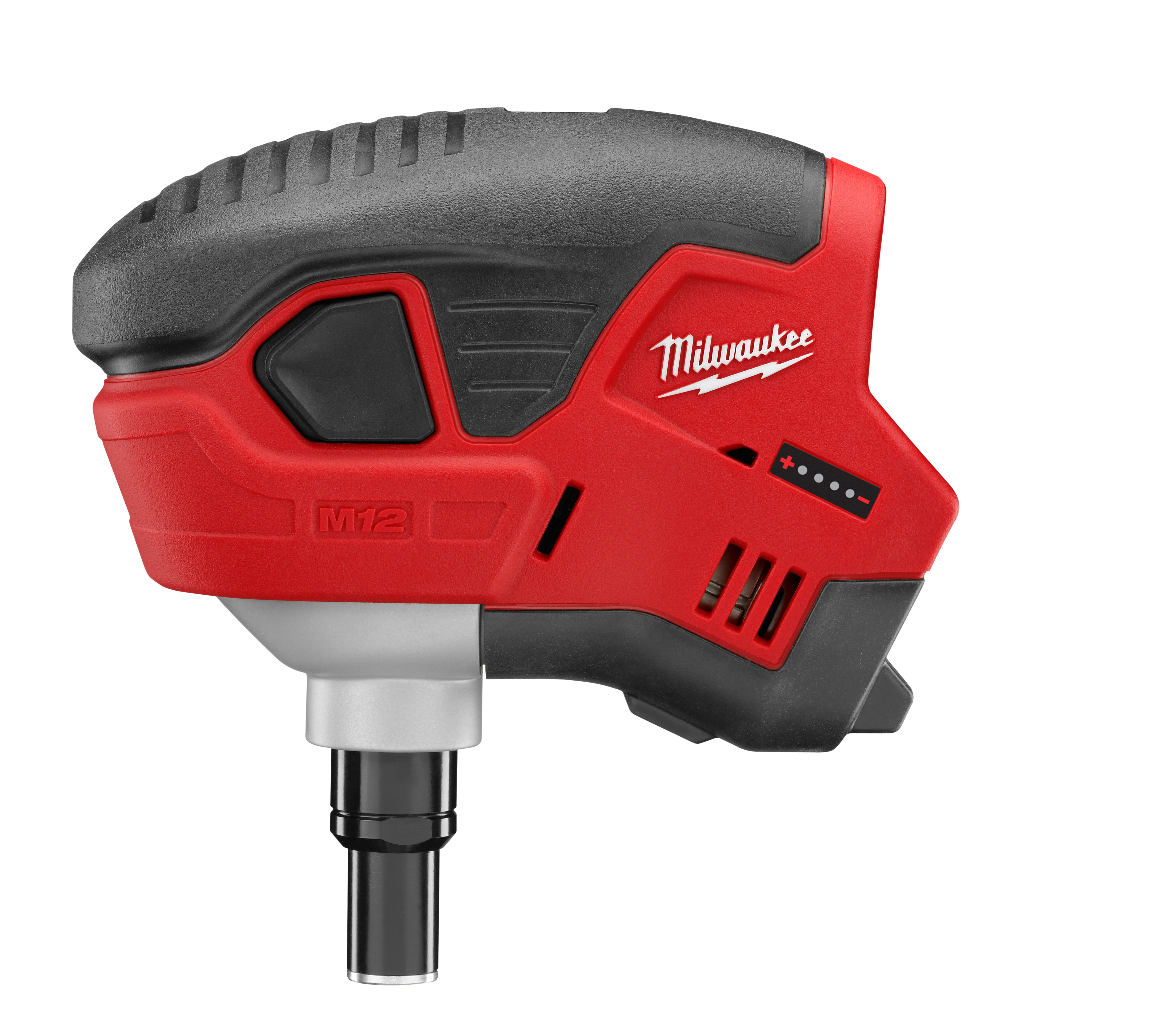 Milwaukee® M12™ 2458-20 Cordless Palm Nailer, 6D to 16D Fastener, For Fastener Type: Framing, 7-1/2 in OAL, Battery