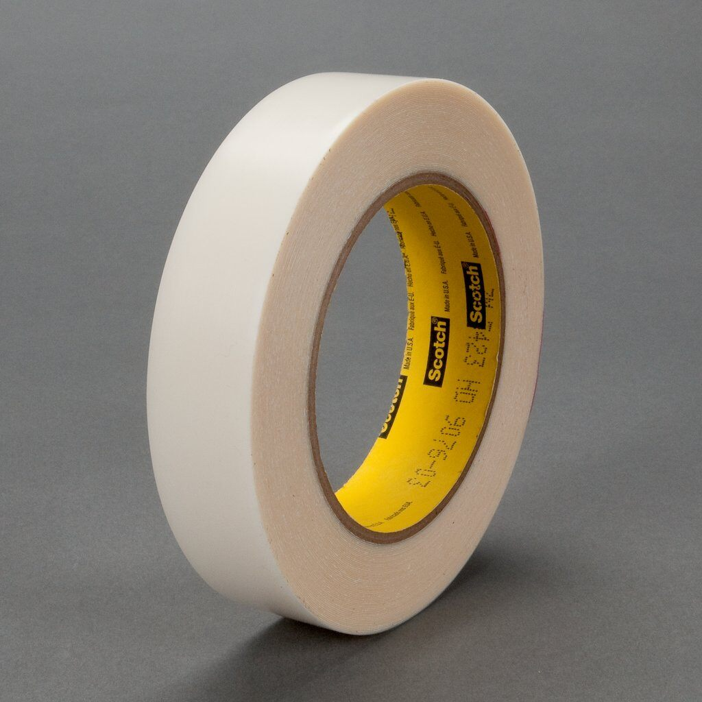 "3M™ 5423-1""x18yd Film Tape, 18 yd L x 1 in W, 11.7 mil THK, Rubber Adhesive, UHMWP Backing, Transparent"