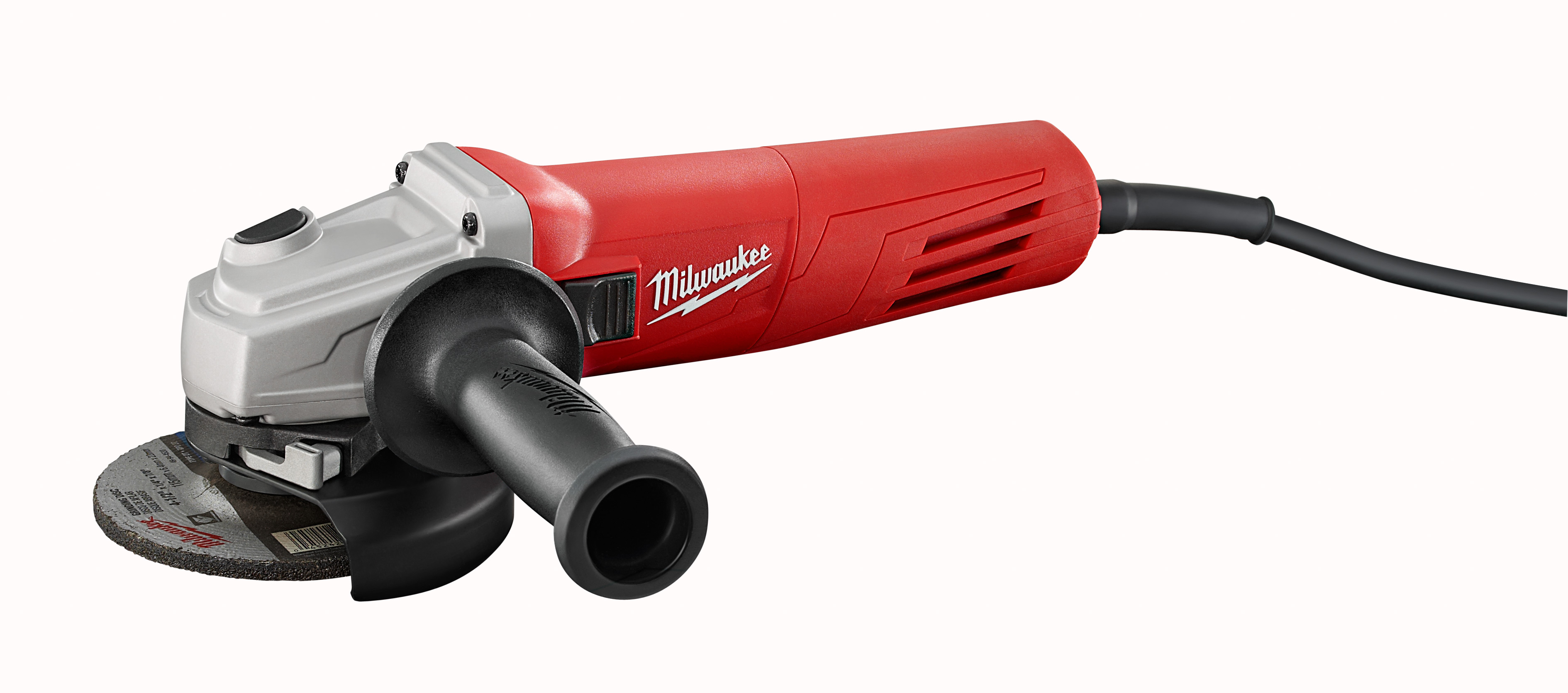 Milwaukee® 6146-33 Small Angle Grinder, 4-1/2 in Dia Wheel, 5/8-11 UNC Arbor/Shank, 120 VAC, Red