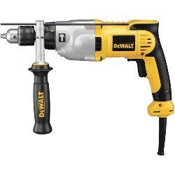 DeWALT® DWD520K VSR Hammer Drill Kit, 1/2 in Keyed Chuck, 120 VAC, 14 in OAL