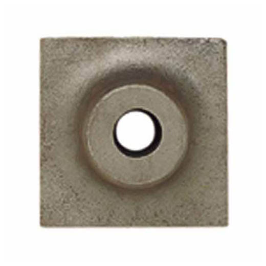 Milwaukee® 48-62-4050 Tamper Plate, For Use With Milwaukee® 48-62-4060 Tamper Shank, 6 in W Head, 6 in OAL, 1-1/8 in Collared Hex Shank with Notch
