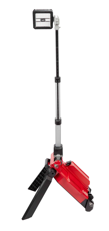 Milwaukee® M18™ ROCKET™ 2120-20 Cordless Dual Pack Tower Light With Key, 22 in L x 7.1 in W x 10.6 in H, 18 VDC, LED Lamp