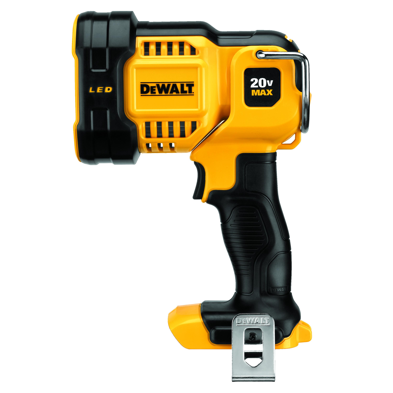 DeWALT® DCL043 Cordless Spotlight, LED Lamp, 20 VDC, Tool Only
