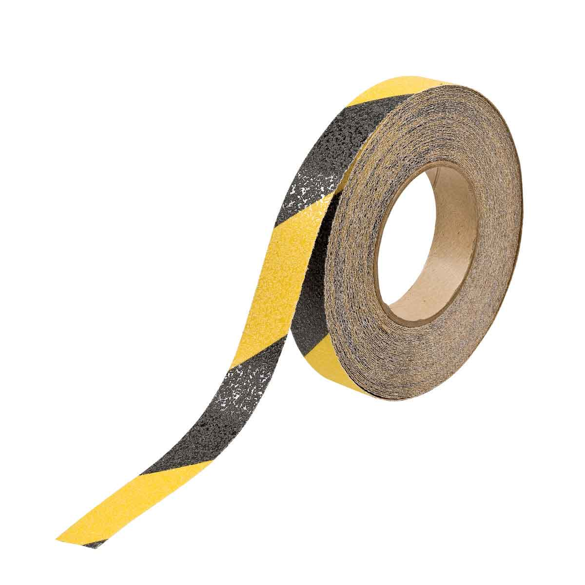 Brady® 78146 Blank Laminated Non-Reflective Anti-Skid Tape, 60 ft L x 1 in W x 0.026 in THK, B-916 Polyester, Stripes Surface Pattern, Gritted Surface