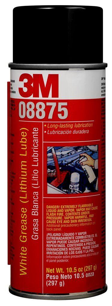 3M™ 051135-051135-08875 Grease, 16 fl-oz Aerosol Can, Liquid Form, White