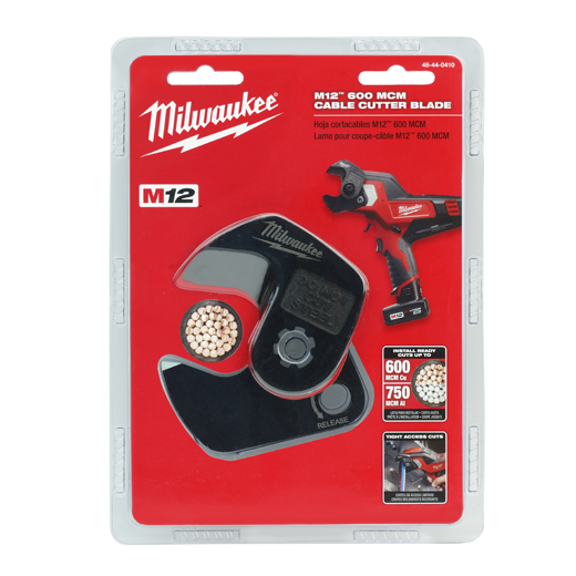 Milwaukee® 48-44-0410 M12™ Cable Cutter Blade, For Use With 2472 600/700 MCM Cable Cutter