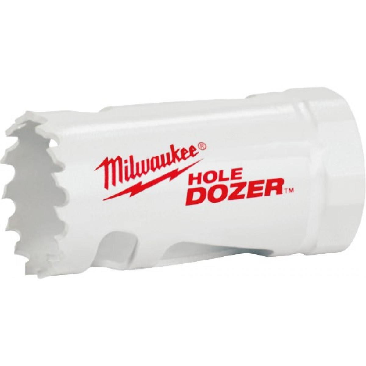 Milwaukee® 49-56-0002 Hole Dozer™ 49-56 Hole Saw, 9/16 in Dia, 1-5/8 in D Cutting, Bi-Metal/8% Cobalt Cutting Edge, 1/2-20 Arbor