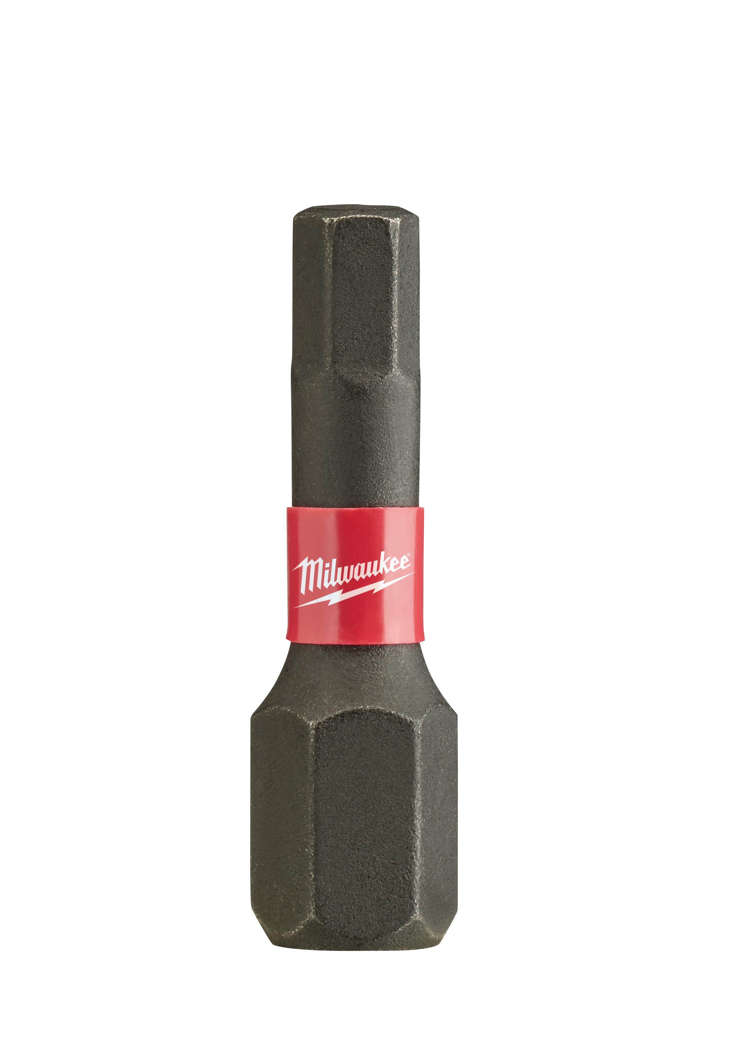 Milwaukee® SHOCKWAVE™ 48-32-4706 Impact Insert Bit, 5/32 in Hex Point, 1 in OAL, Custom Alloy76™ Steel