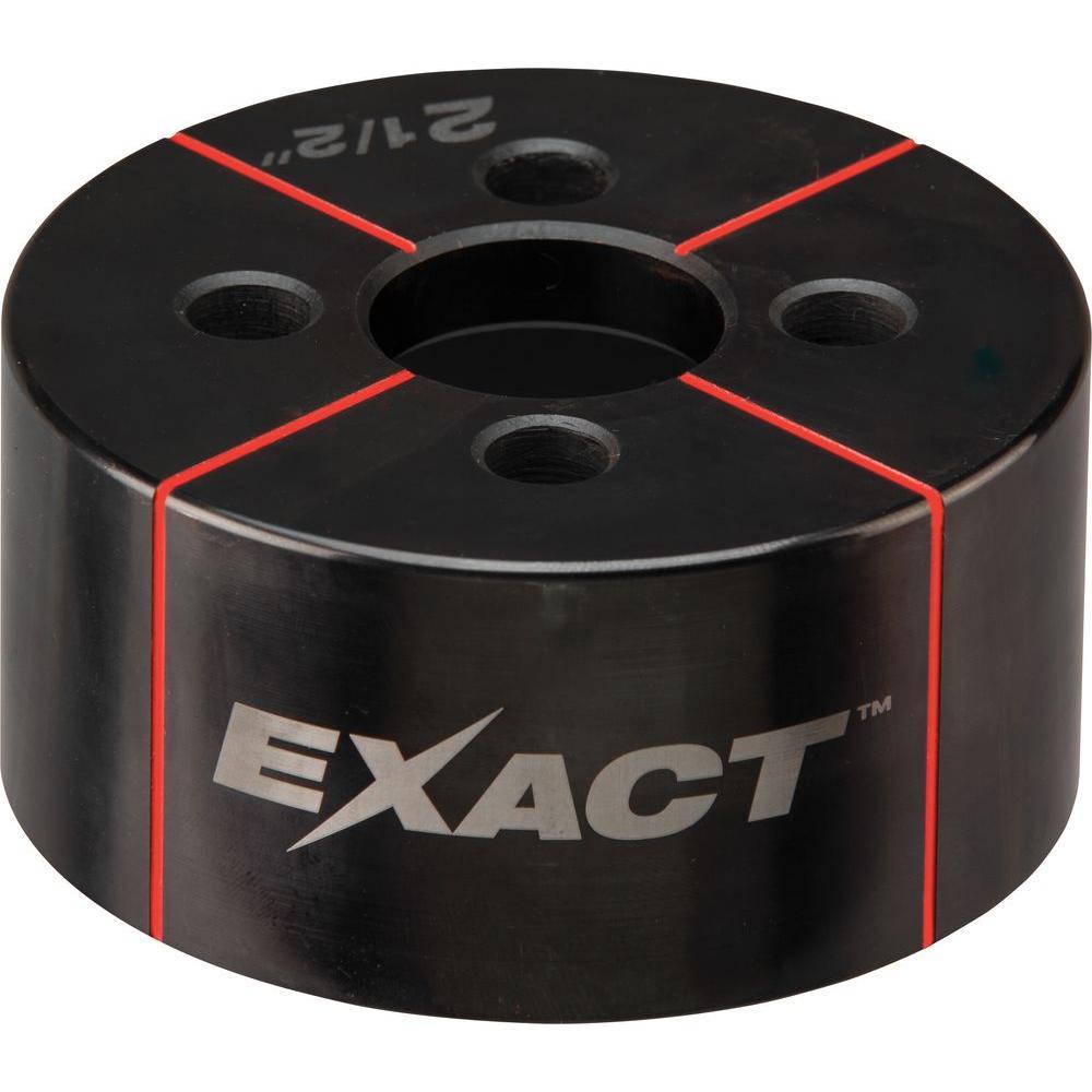 Milwaukee® EXACT™ 49-16-2672 Knockout Die, 2-1/2 in Conduit/Pipe, Steel