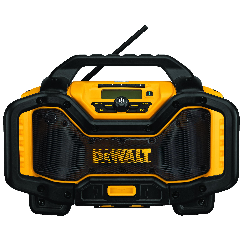 DeWALT® 20V MAX* FLEXVOLT™ DCR025 Cordless Bluetooth Charger Radio, 120 VAC/20/60 VDC, Lithium-Ion Battery, Tool Only