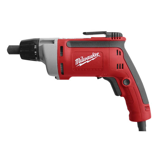 Milwaukee® 6780-20 Double Insulated Cord Electric Screwdriver, 1/4 in Chuck, 140 in-lb Torque, 120 VAC, 12-1/4 in OAL