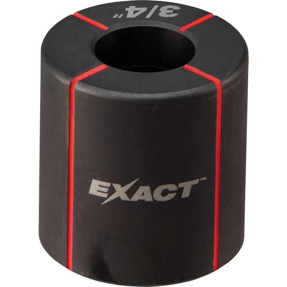 Milwaukee® EXACT™ 49-16-2662 Knockout Die, 3/4 in Conduit/Pipe, Steel