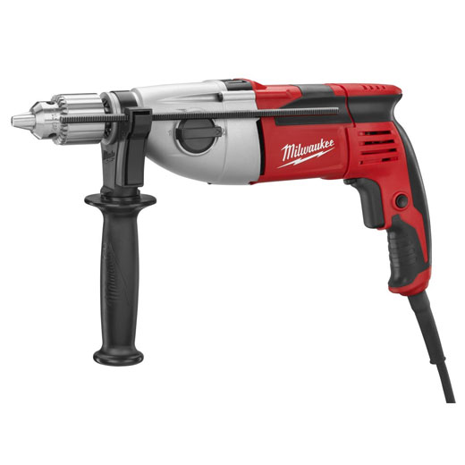 Milwaukee® 5380-21 Corded Hammer Drill Kit, 1/2 in Dia x 14 in OAL Keyed Chuck, 120 VAC, 14 in OAL
