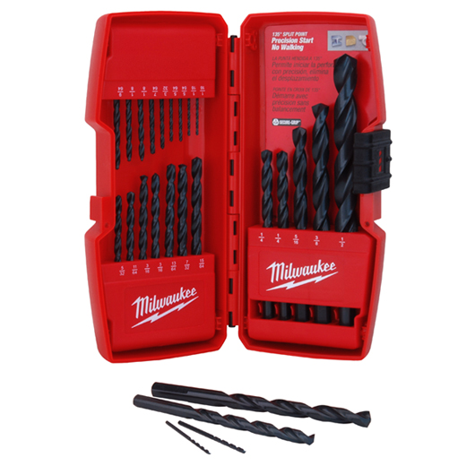 Milwaukee® Thunderbolt® Secure-Grip™ 48-89-2801 Drill Bit Set, 21 Pieces, Black Oxide