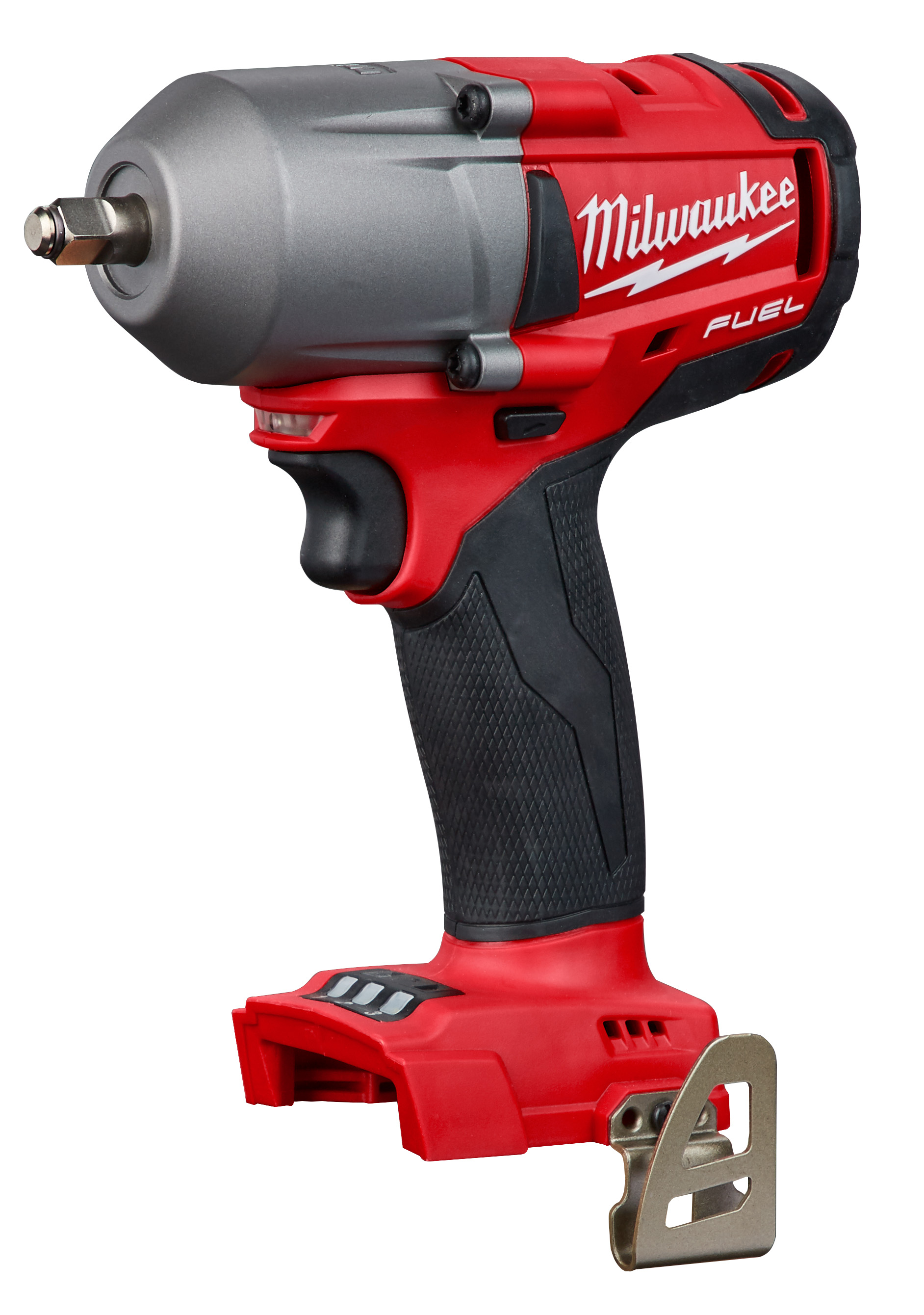 Milwaukee® M18™ 2852-20 Mid Torque Cordless Impact Wrench With Friction Ring, 3/8 in, 600 ft-lb Torque, 18 VDC, 6.7 in OAL