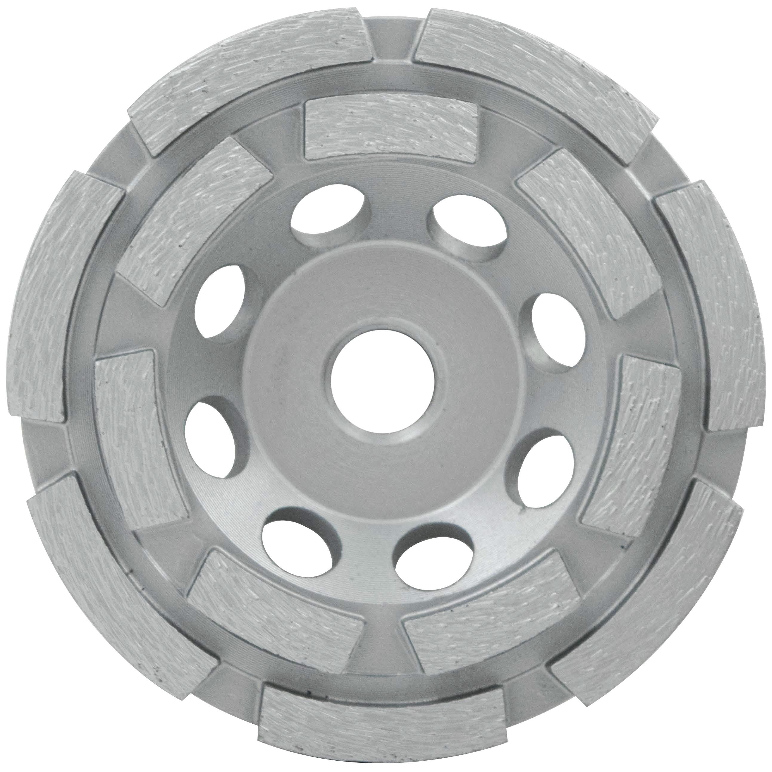 Milwaukee® 49-93-7770 Double Row Cup Wheel, 7 in Dia, Diamond Abrasive