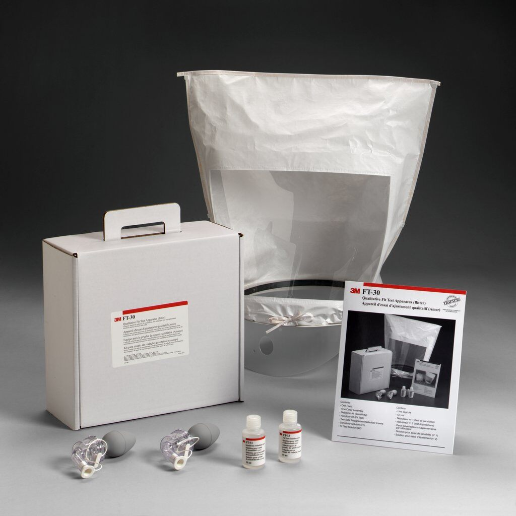 3M™ FT-30 Qualitative Fit Test Apparatus, For Use With Disposable Respirator/Reusable Respirator