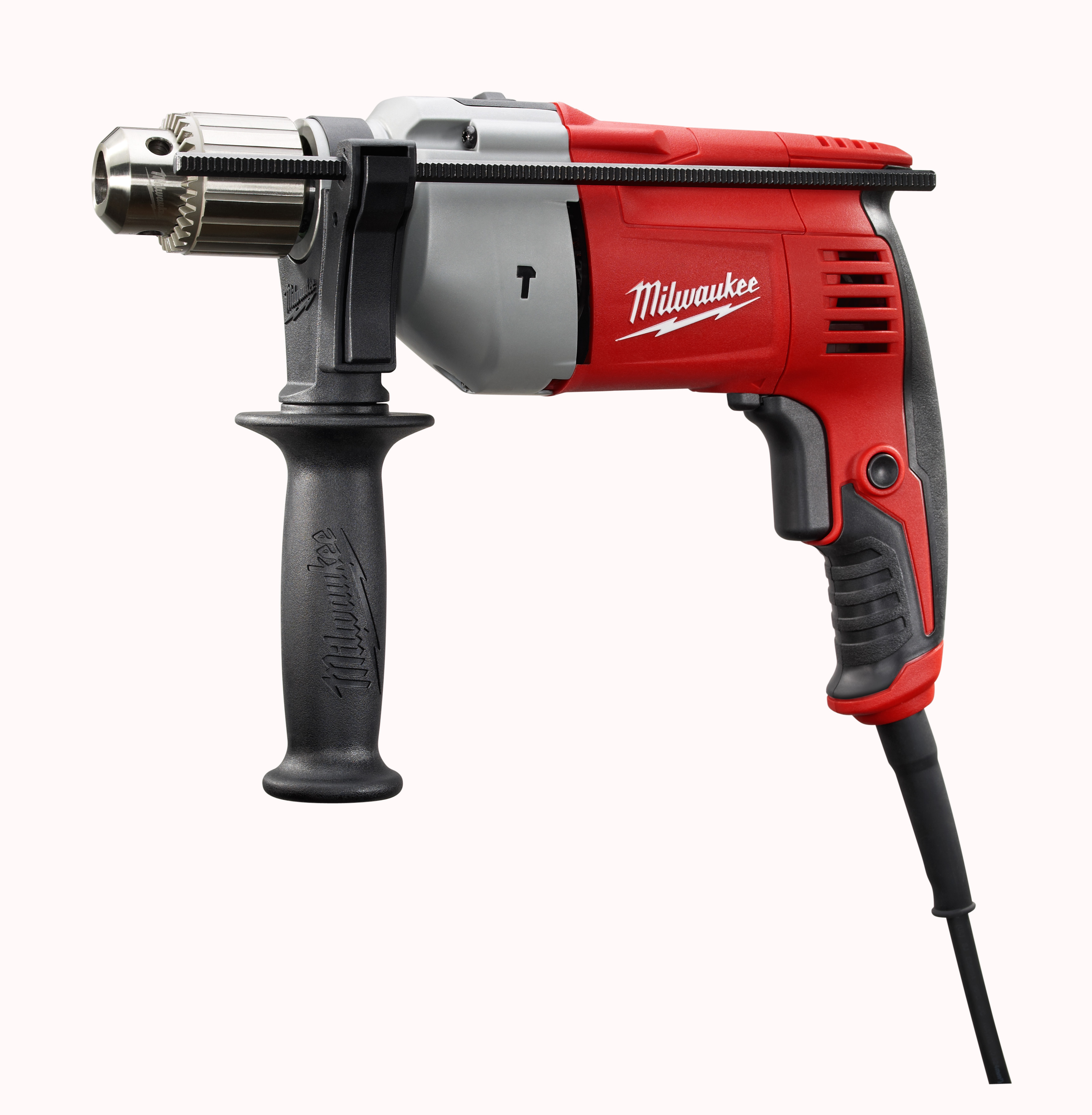 Milwaukee® 5376-20 Compact Corded Hammer Drill, 1/2 in Keyed Chuck, 120 VAC, 11-1/2 in OAL