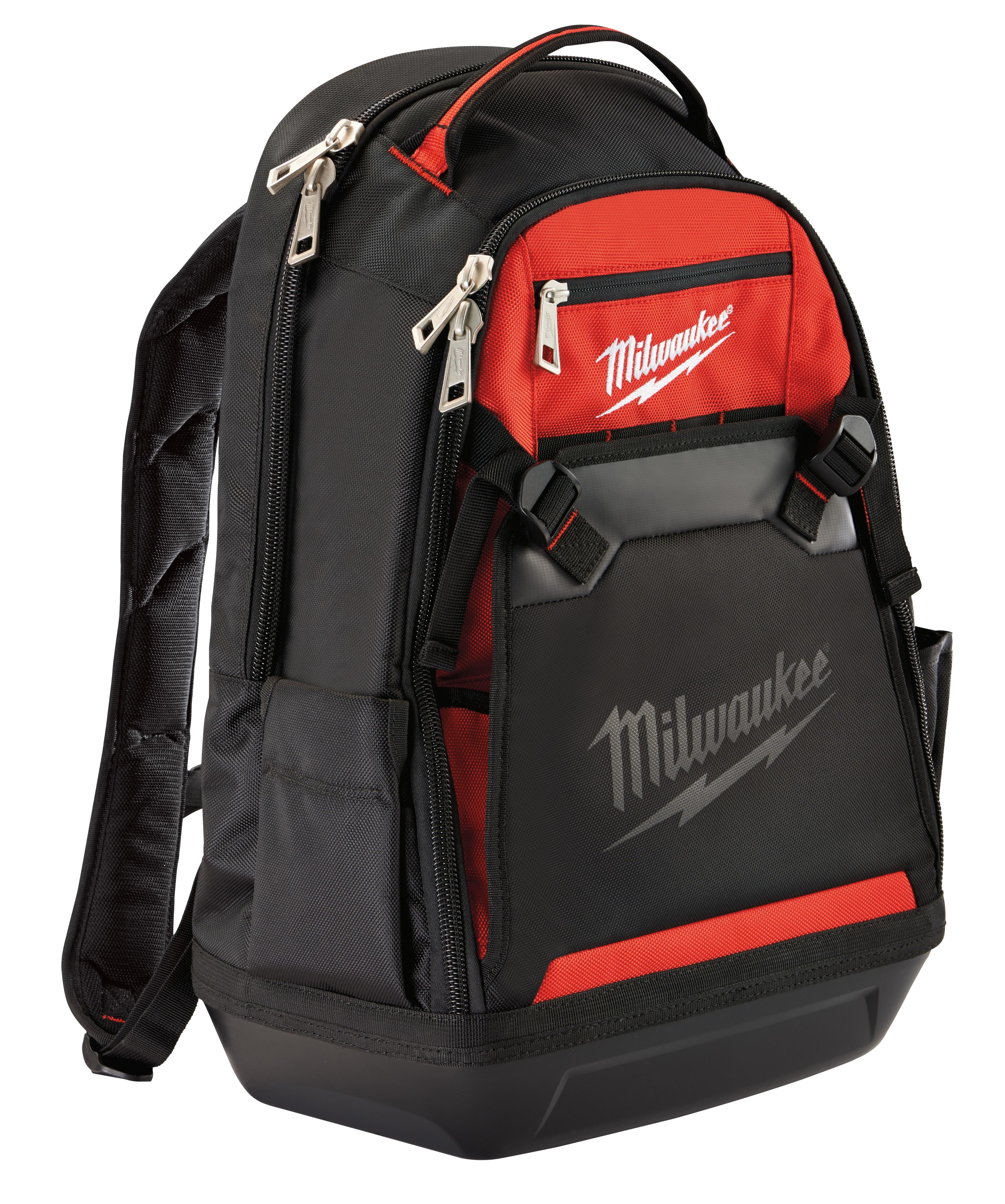 Milwaukee® 48-22-8200 Jobsite Backpack, Ballistic Polyester, Red