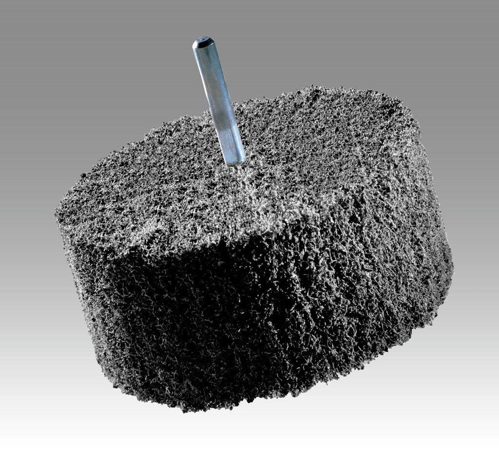 3M™ 13177 Convolute Multi-Finishing Wheel, 6 in Dia Wheel, 1 in Center Hole, 2 in W Face, Medium Grade, Silicon Carbide Abrasive