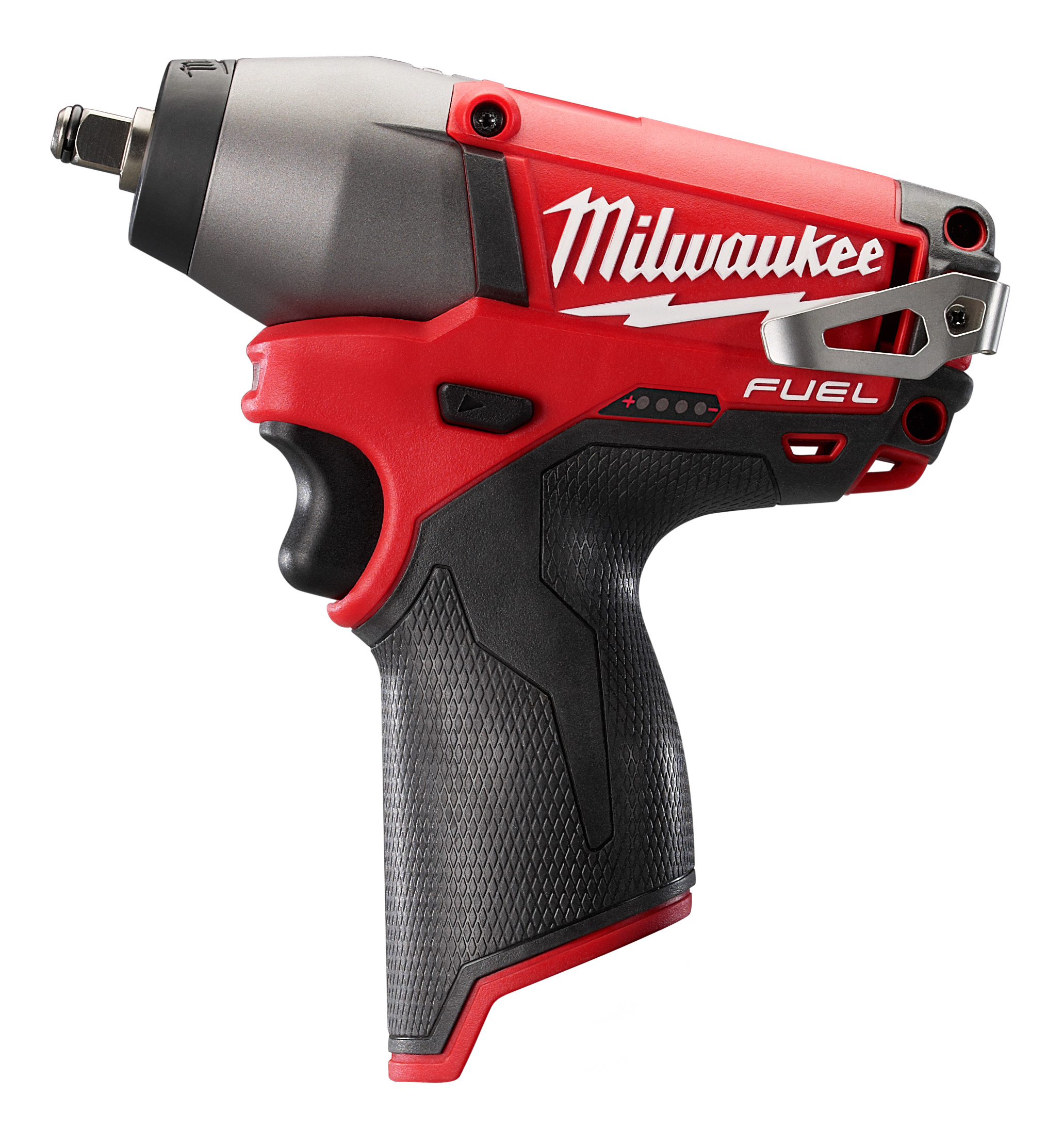 Milwaukee® M12™ FUEL™ 2454-20 Compact Cordless Impact Wrench, 3/8 in Straight Drive, 2650/3500 bpm, 117 ft-lb Torque, 12 VDC, 6-1/2 in OAL
