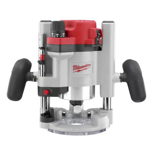 Milwaukee® BodyGrip® 5615-24 BodyGrip® Double Insulated Multi-Base Electric Router Kit With Case, Rocker Switch, 1/4 in, 1/2 in Chuck, 1-3/4 hp, 120 VAC/VDC