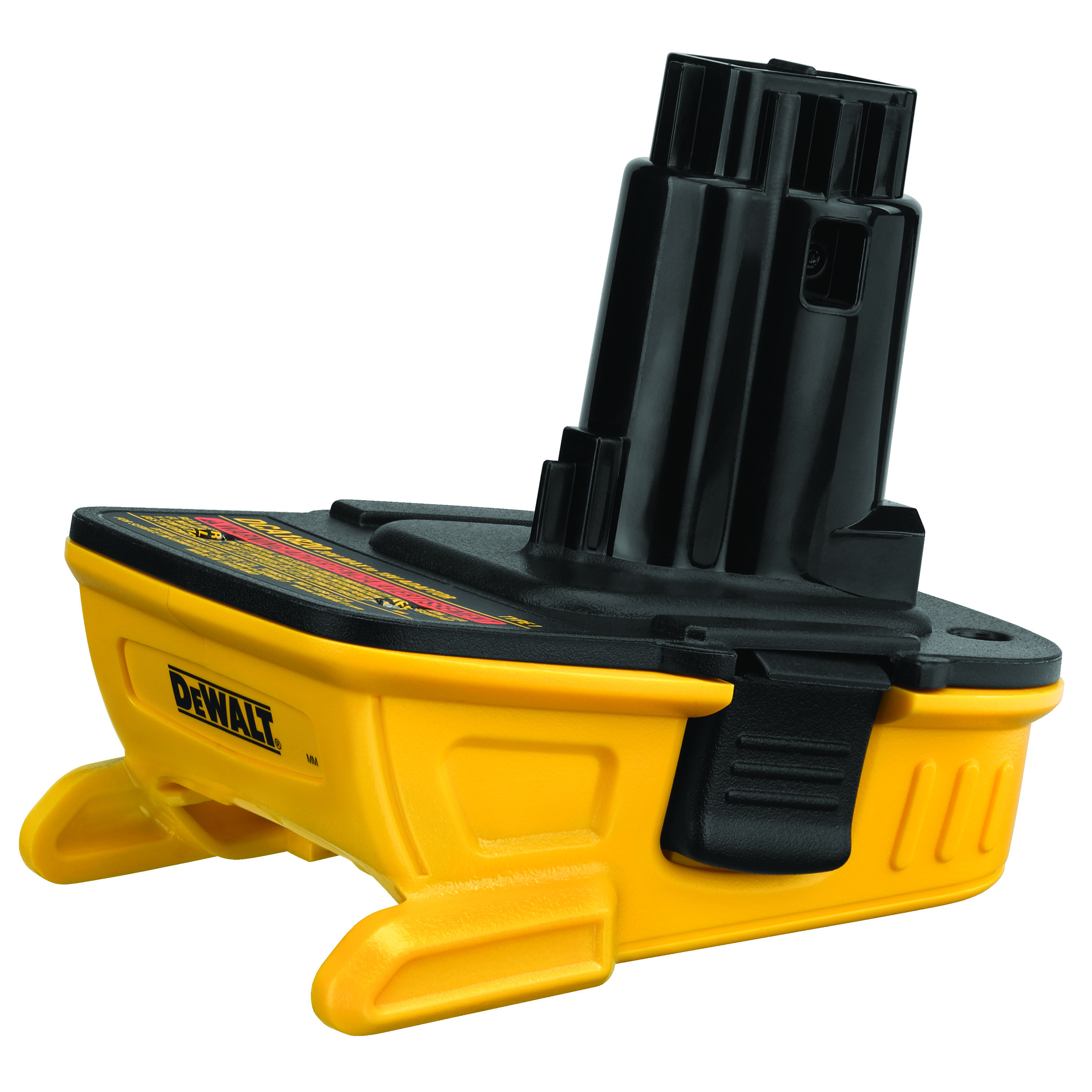 DeWALT® 20V MAX* MATRIX™ DCA1820 Compact Slide Cordless Battery Adapter, Lithium-Ion Battery, 18 VDC Charge, For Use With DeWALT® DCB201, DCB203 and DCB203BT Compact Batteries