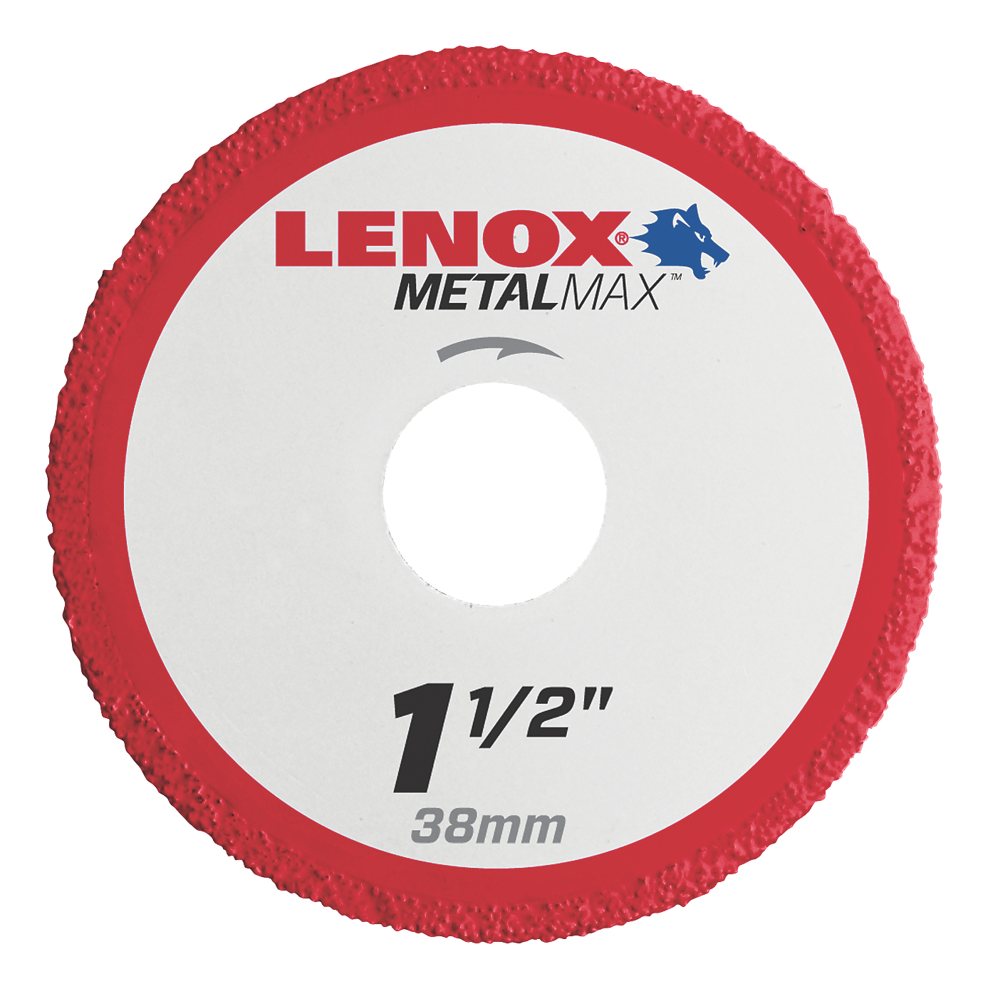 LENOX® TOOLS METALMAX™ 1972914 METALMAX™ Type 1 Cut-Off Wheel, 1-1/2 in Dia x 0.05 in THK, 3/8 in Center Hole, 40/50 Grit, Diamond Abrasive