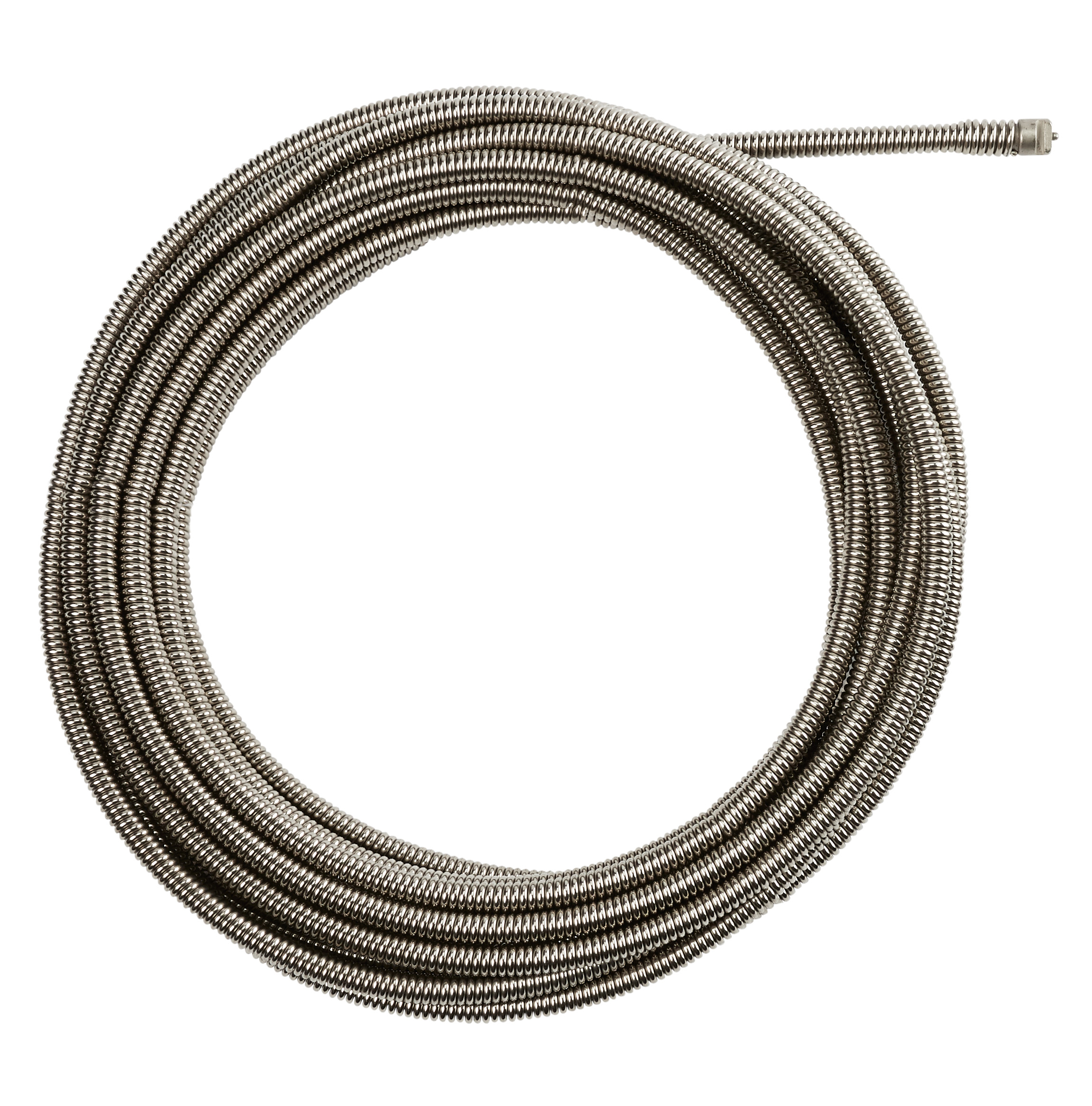 Milwaukee® 48-53-2676 Inner Core Coupling Drain Cleaning Cable, 3/8 in, Steel, For Use With Drain Cleaning Machines, 1-1/4 to 2-1/2 in Drain Line
